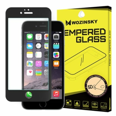 Wozinsky PRO+ Tempered Glass 5D  iPhone 6S  / 6 fekete