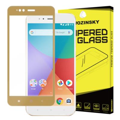 Wozinsky Full Screen super üvegfólia 9H Xiaomi Mi 5X / Mi A1 arany