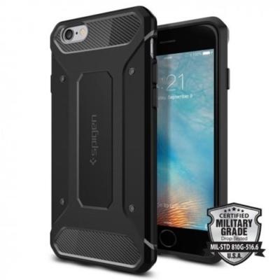 Spigen Rugged Armor iPhone 6 / 6S fekete
