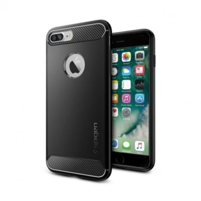 Spigen Rugged Armor iPhone 7 Plus / 8 Plus fekete