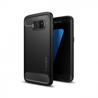 Spigen Rugged Armor Samsung Galaxy S7 Edge fekete