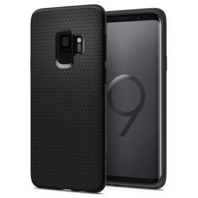 Spigen Liquid Air tok Galaxy S9 matt fekete