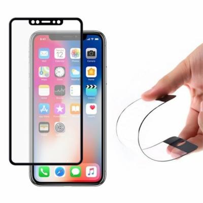 Wozinsky Full Cover Flexi Nano Glass Hybrid Screen üvegfólia fekete iPhone 11 Pro / iPhone XS / iPhone X