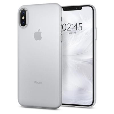 Spigen Airskin soft clear tok iPhone X / XS
