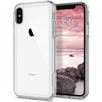 Spigen Cryastal hybrid iPhone X