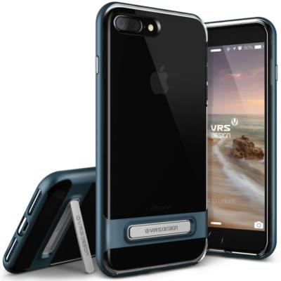 VRS Design iPhone 7/8 Verus Crystal Bumper Steel Blue Case