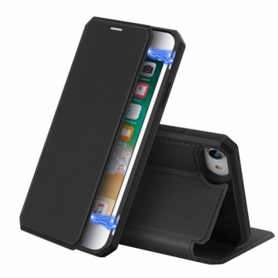 Dux Ducis book case szürke iPhone 7 / 8