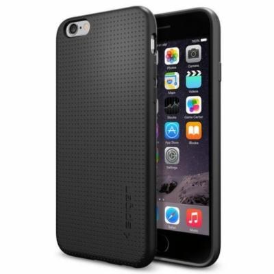 Spigen Liquid Air fekete iPhone 6 / 6S