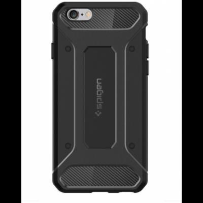 Spigen Rugged Capsule fekete iPhone 6 / 6S