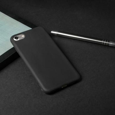 New Case Soft matt fekete iPhone 6 / 6S
