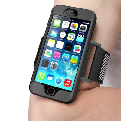 Supcase Sport armband fekete iPhone 6 / 6S