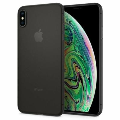 Spigen Air Skin fekete iPhone XS Max