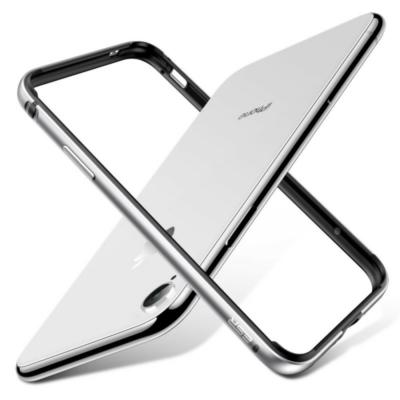 ESR iPhone X/XS Crown Bumper Silver Case