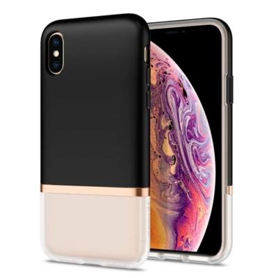 Spigen La Manon fekete-rózsaszín iPhone XS Max