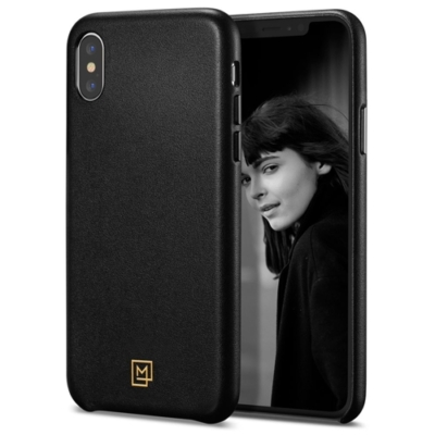 Spigen La Manon fekete-arany iPhone XS Max