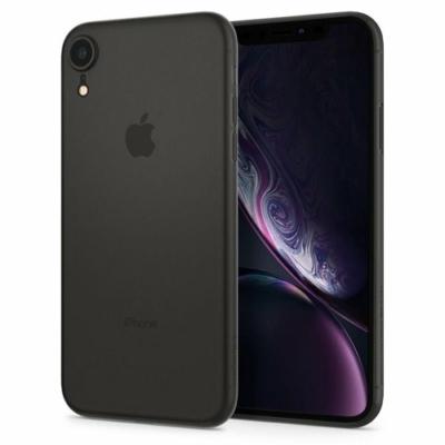 Spigen Air Skin fekete iPhone XR