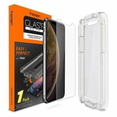 Spigen Ez Fit 5D üvegfólia iPhone XR