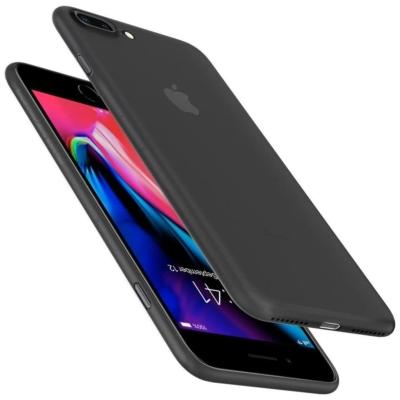 Spigen Airskin fekete iPhone 7 Plus / 8 Plus