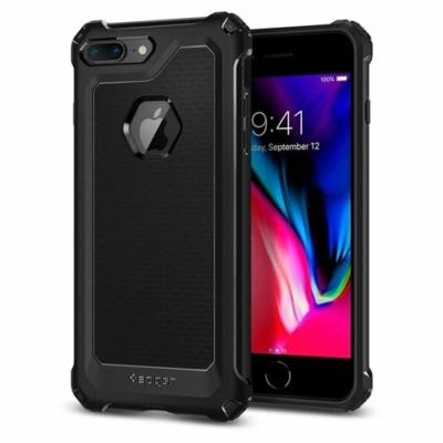 Spigen Rugged armor fekete iPhone 7 Plus / 8 Plus