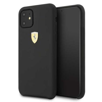 Ferrari Case fekete iPhone 11