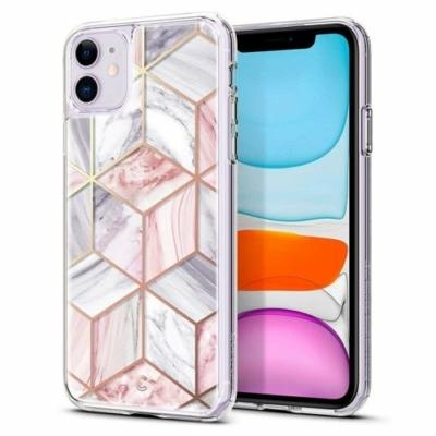 Spigen Ciel rózsaszín márvány iPhone 11