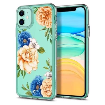 Spigen Ciel kék virágos iPhone 11