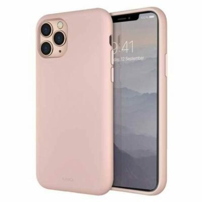 UNIQ Lino hue iPhone 11 Pro rózsaszín