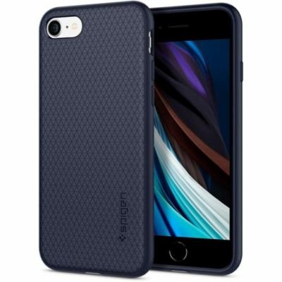 Spigen Liquid Air kék iPhone 7 / 8 / 2020 SE