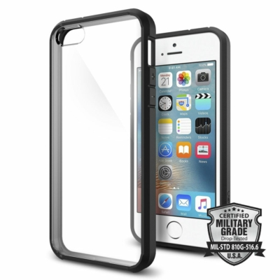 Spigen Ultra Hybrid iPhone 5S / SE Black