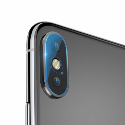Baseus Camera 2x Objektívvédő üvegfólia iPhone X