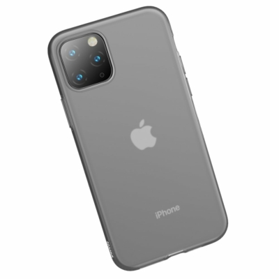 Baseus Jelly Gél tok fekete iPhone 11 Pro Max