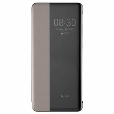Baseus Smart View Ablakos tok khaki Huawei P30 Pro