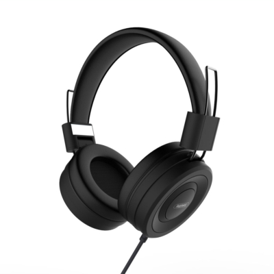Remax 4D fekete fejhallgató