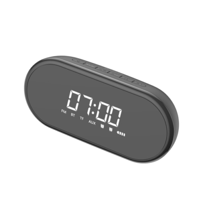 Baseus Encok E09 Stylish Portable Bluetooth fekete ébresztőóra