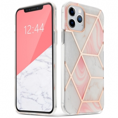 Tech-Protect Marble iPhone 12 / 12 Pro